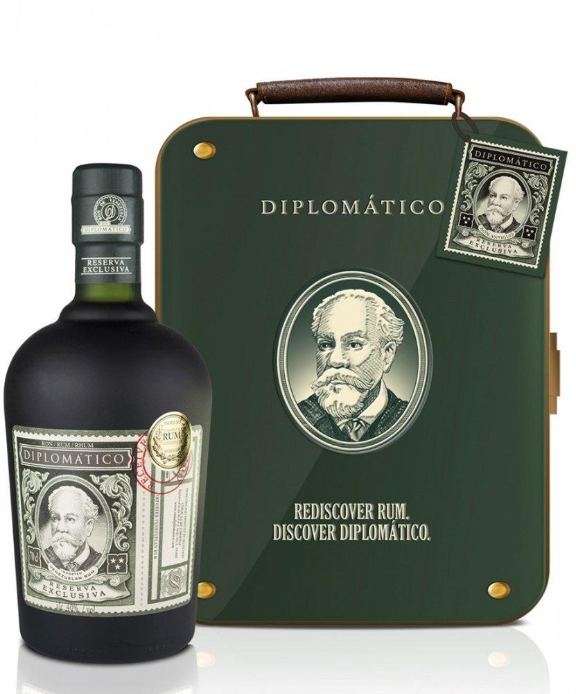 Diplomatico Reserva Exclusiva 12y 0,7l 40% Plech