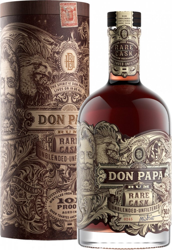 Don Papa Rare Cask 0,7l 50,5%