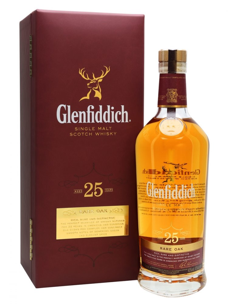 Glenfiddich 25yo 0,7 l
