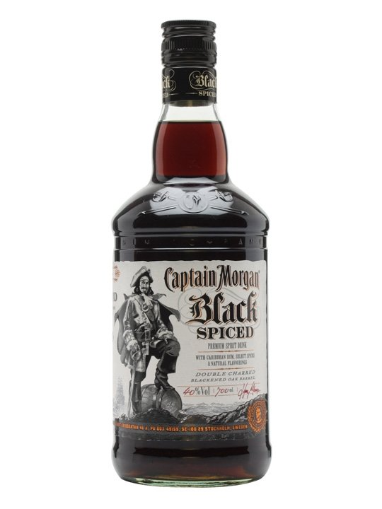 Captain Morgan Black Spiced 1l 40%