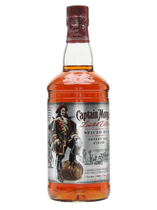 Captain Morgan Sherry Oak Spiced 0,75l 35% LE