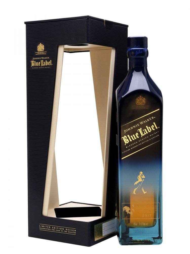 Johnnie Walker Blue Label 2017 Year of the Rooster 0,75l 46%