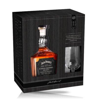 Jack Daniel's Single Barrel 0,7l 45% + 1x sklo