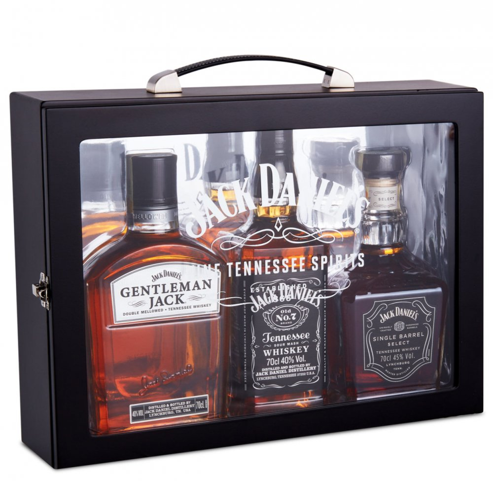 Jack Daniel's Family box 3×0,7l GB