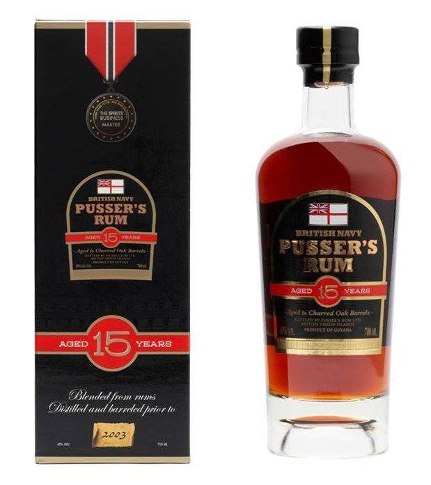 Pusser's British Navy Rum 15y 0,7l 40% GB