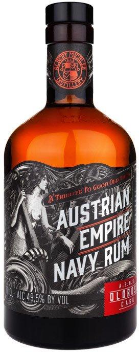 Austrian Empire Navy Rum Oloroso Cask 0,7l 49,5%