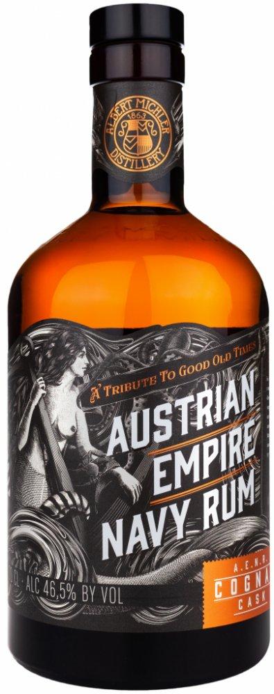 Austrian Empire Navy Rum Cognac Cask 0,7l 46,5%