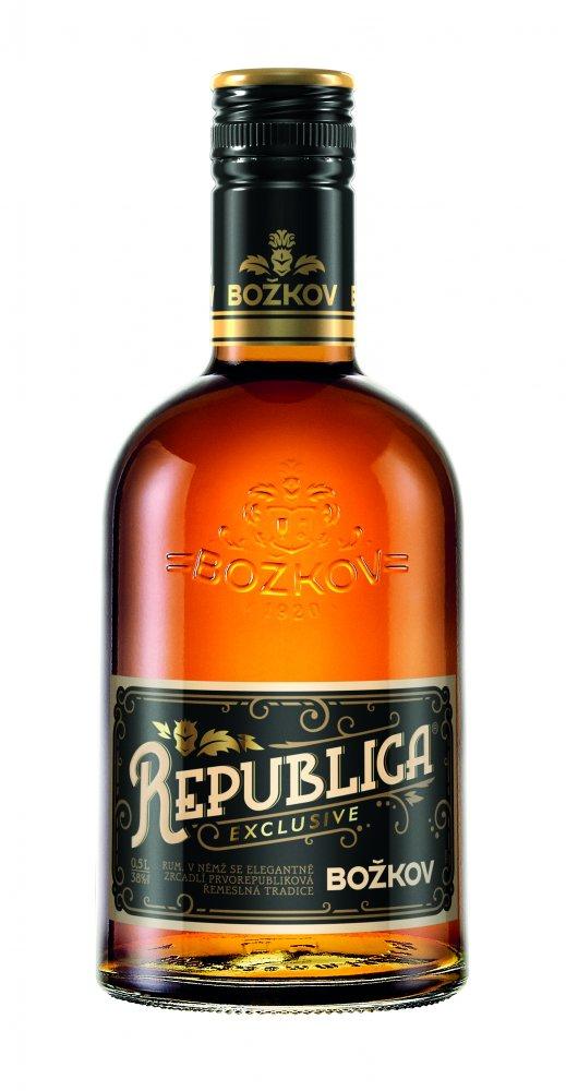 Božkov Republica Exclusive 8y 0,5l 38%