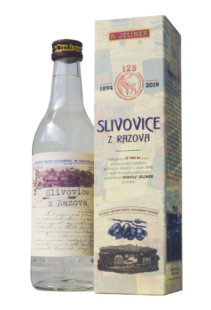Slivovice z Razova 0,35l 50% LE