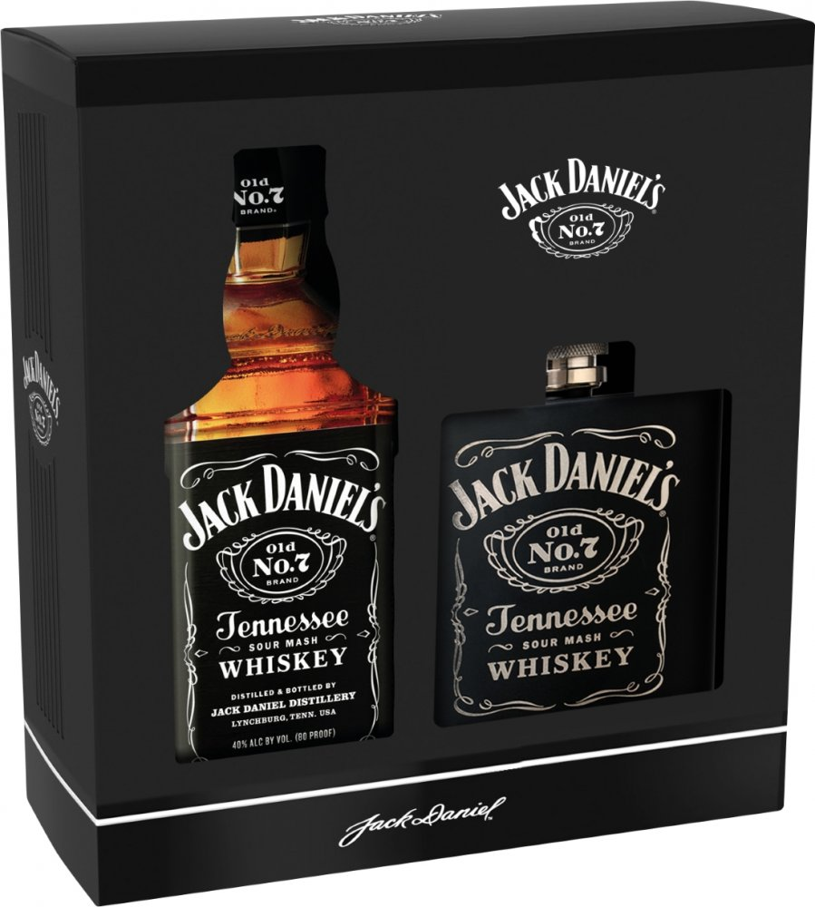 Jack Daniel's No.7 + Placatka 0,7l 40% GB