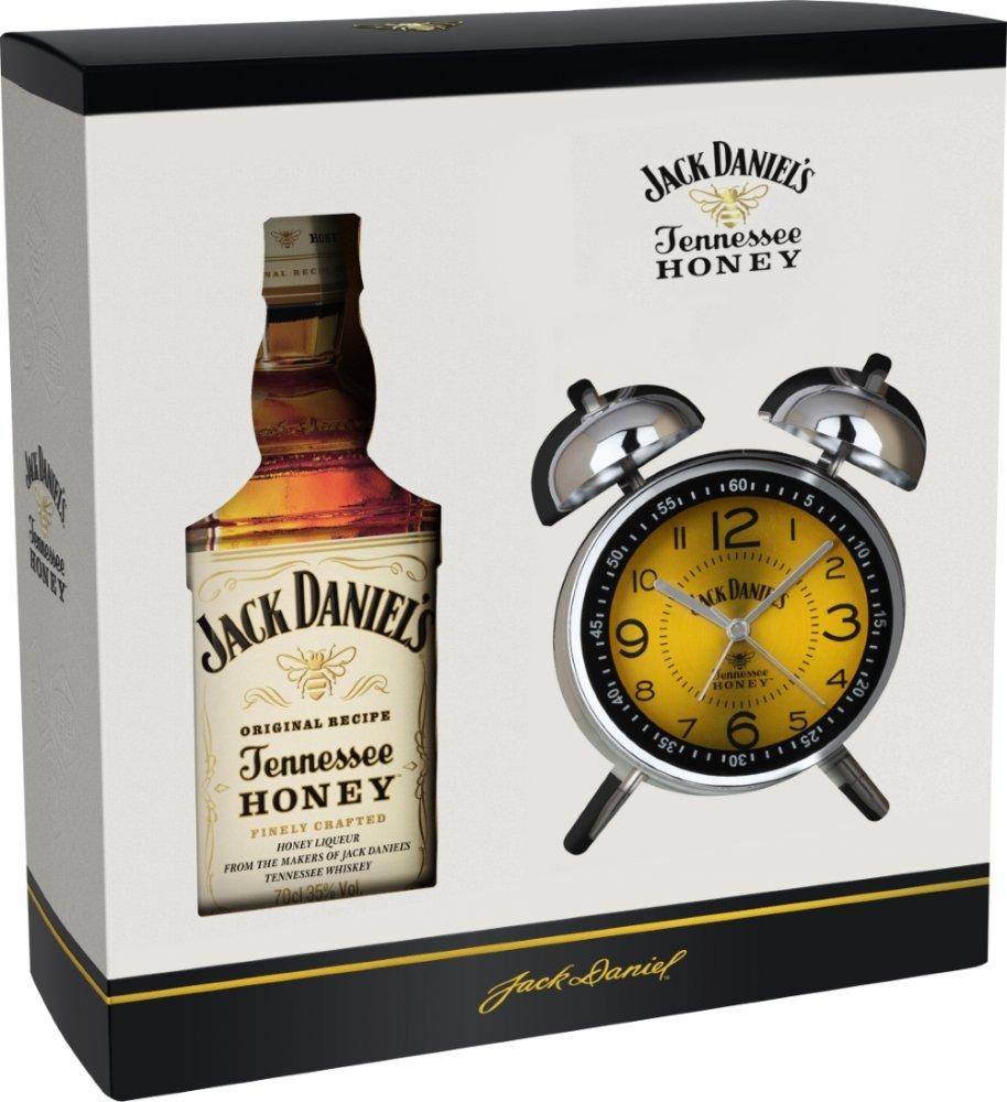 Jack Daniel's Honey + Retro Budík 0,7l 35% GB