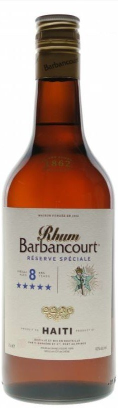 Barbancourt 8y 0,7l 43%