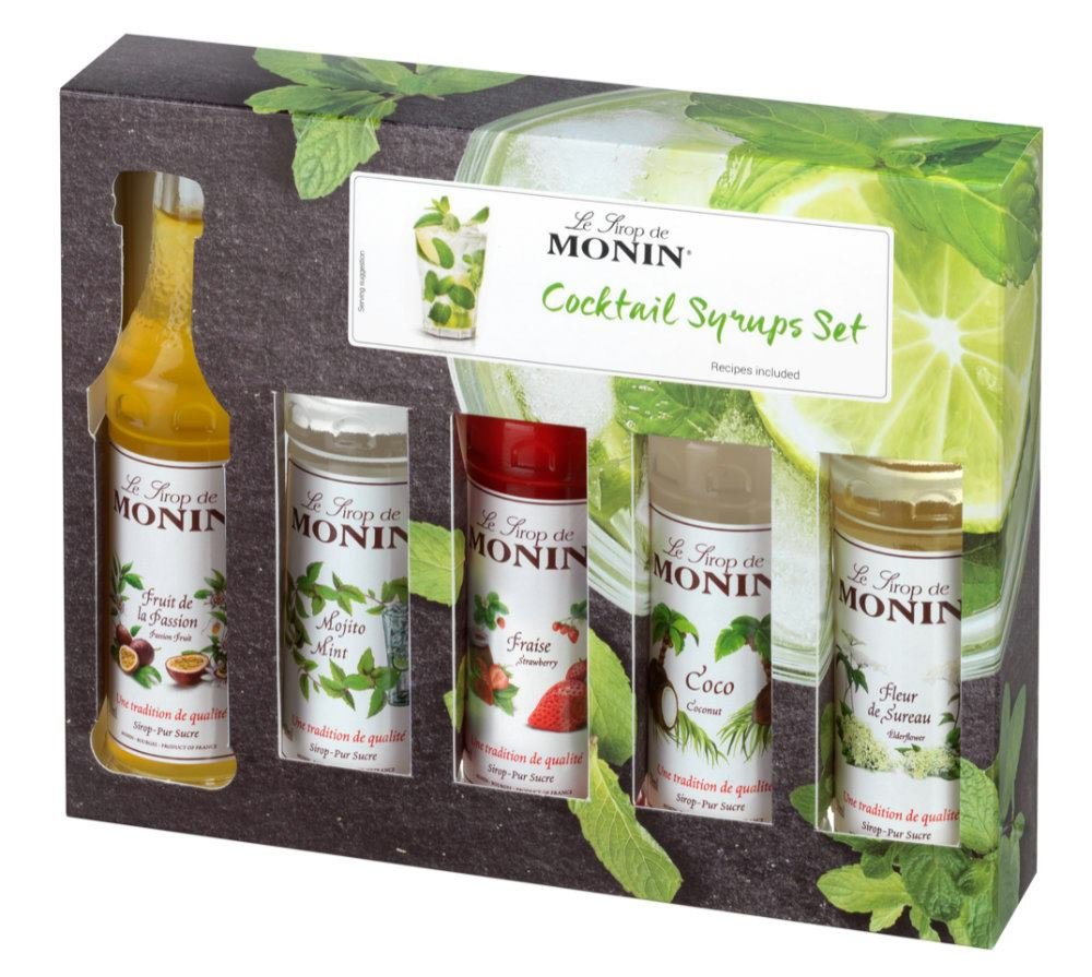 Monin coctail box mini 5×0,05l GB