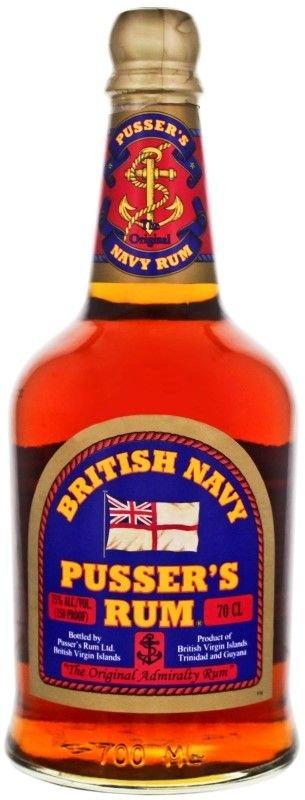 Pusser´s British Navy Rum Overproof Green Label 0,7l 75%