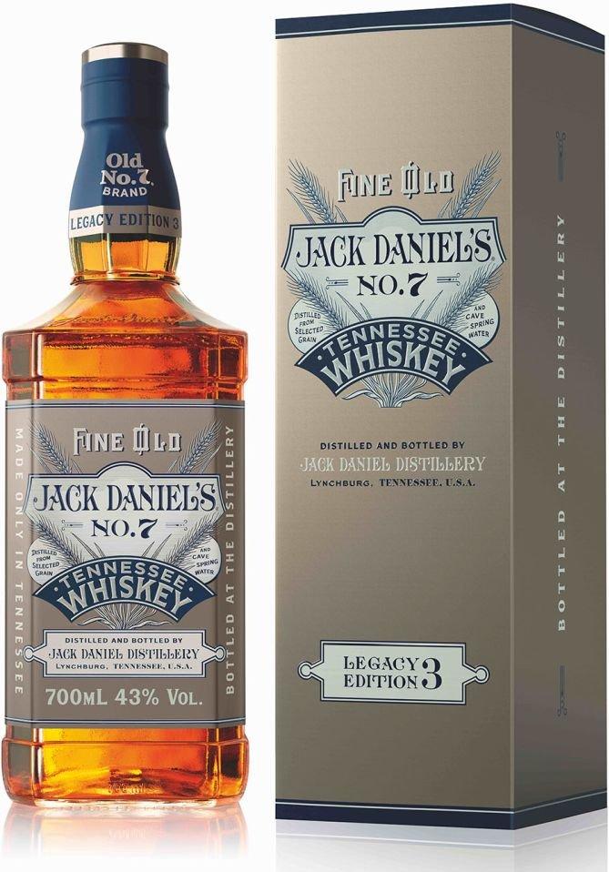 Jack Daniel's Legacy Edition 3 0,7l 43% GB LE