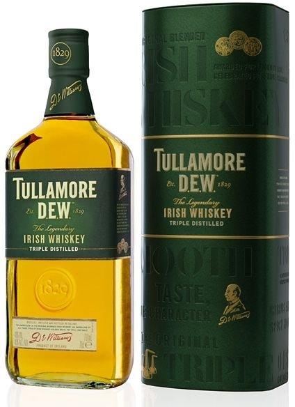 Tullamore Dew 0,7l 40% + plechová dóza