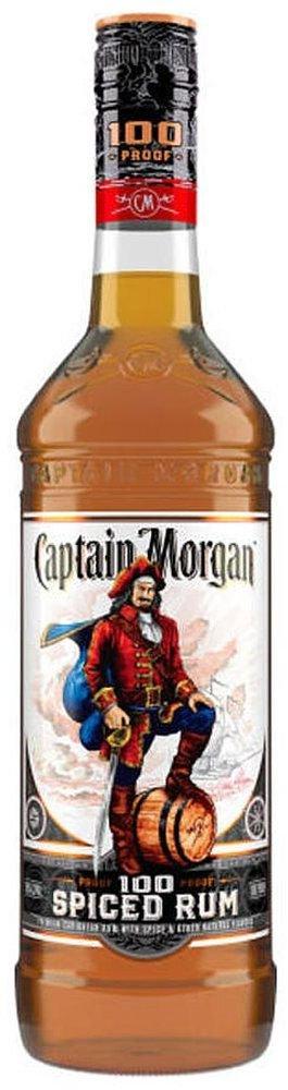 Captain Morgan Spiced 100 Proof 1l 50%