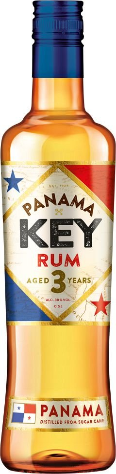 Key Rum Panama 3y 0,5l 38%