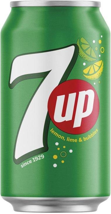 7Up 6×0,33l Plech