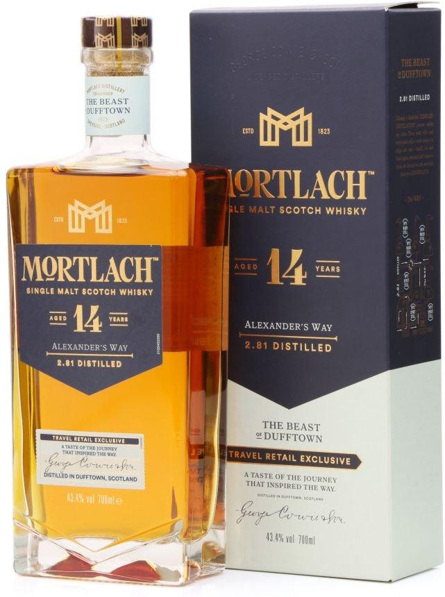 Mortlach 14y 0,7l 43,4% GB