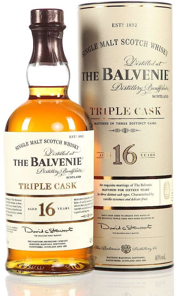 Balvenie Triple Cask 16y 0,2l 40% Tuba
