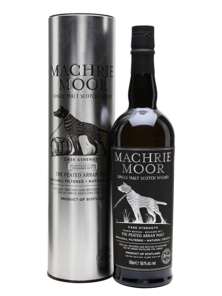 Arran Machrie Moor Cask Strength Batch 4 0,7l 58,1% / Rok lahvování 2017