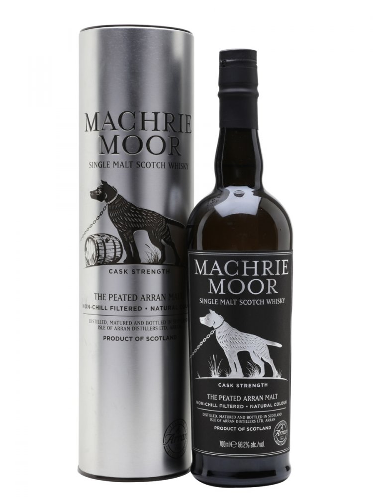Arran Machrie Moor Cask Strength Batch 5 0,7l 56,2% / Rok lahvování 2018