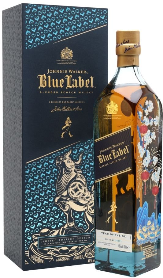 Johnnie Walker Blue Label Year of the Ox 0,7l 40% GB LE