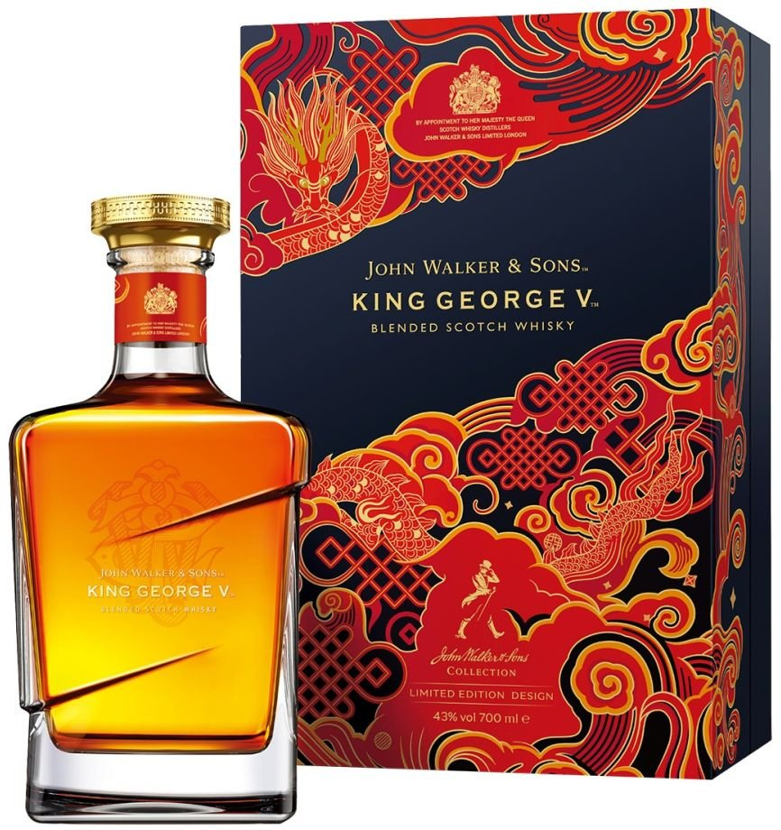 Johnnie Walker Blue Label King George V 0,7l 43% GB LE Chinese New Year 2021