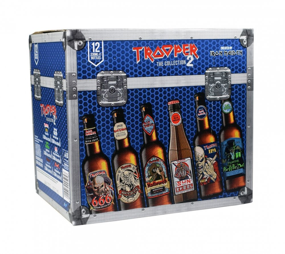 Iron Maiden's TROOPER Mixed Pack 12×0,33l Sklo