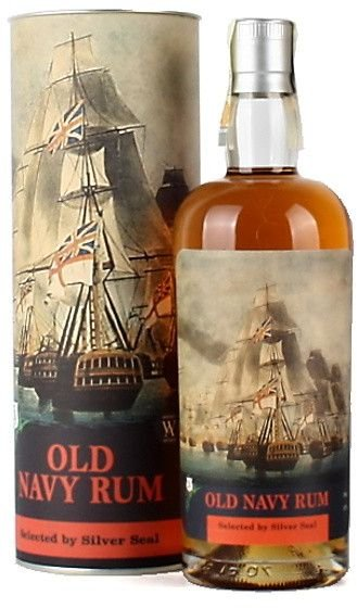 Silver Seal Old Navy Rum 2018 0,7l 57% GB