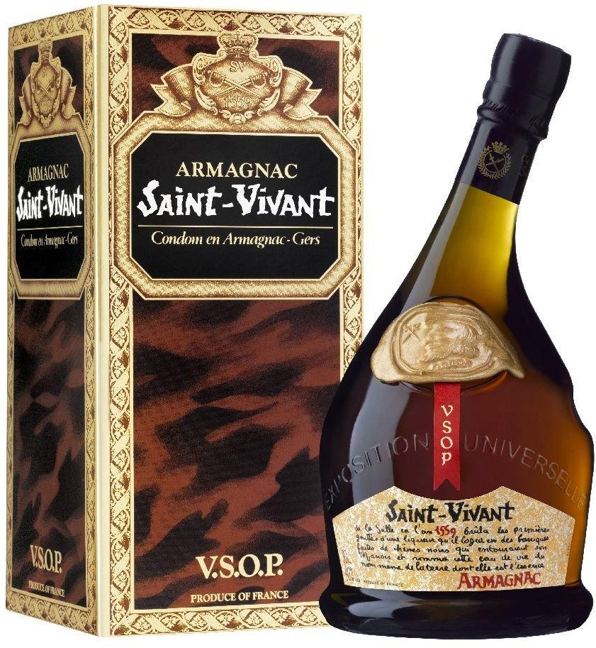 Saint Vivant Armagnac VSOP 0,7l 40% GB