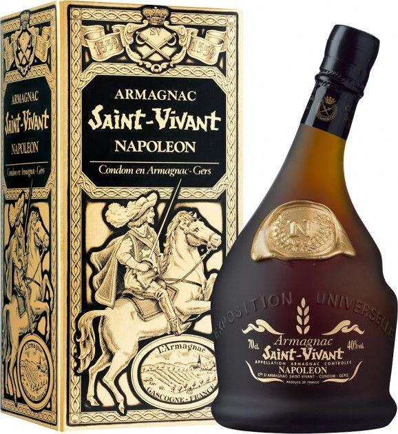 Saint Vivant Armagnac Napoleon 0,7l 40% GB