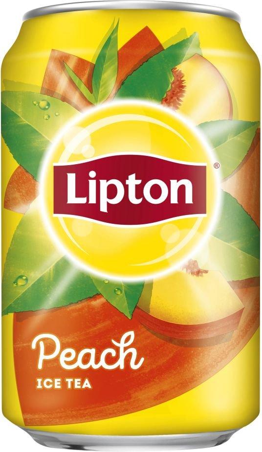 Lipton Peach Ice Tea 6×0,33l Plech