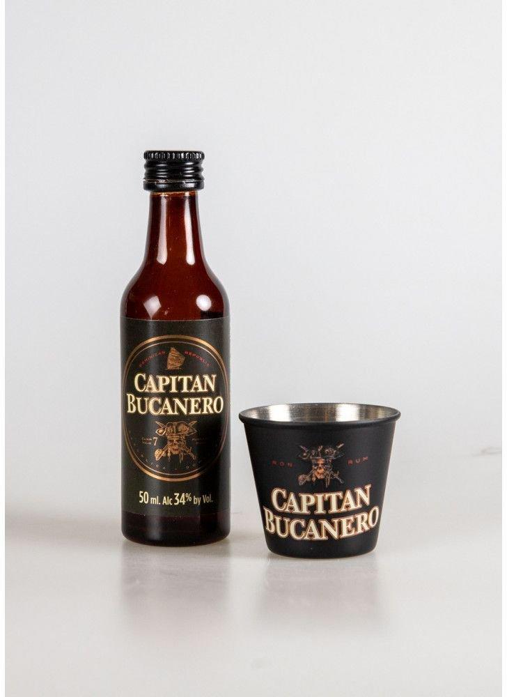 Capitan Bucanero Elixir Mini 7y 0,05l 34% + 1x sklo