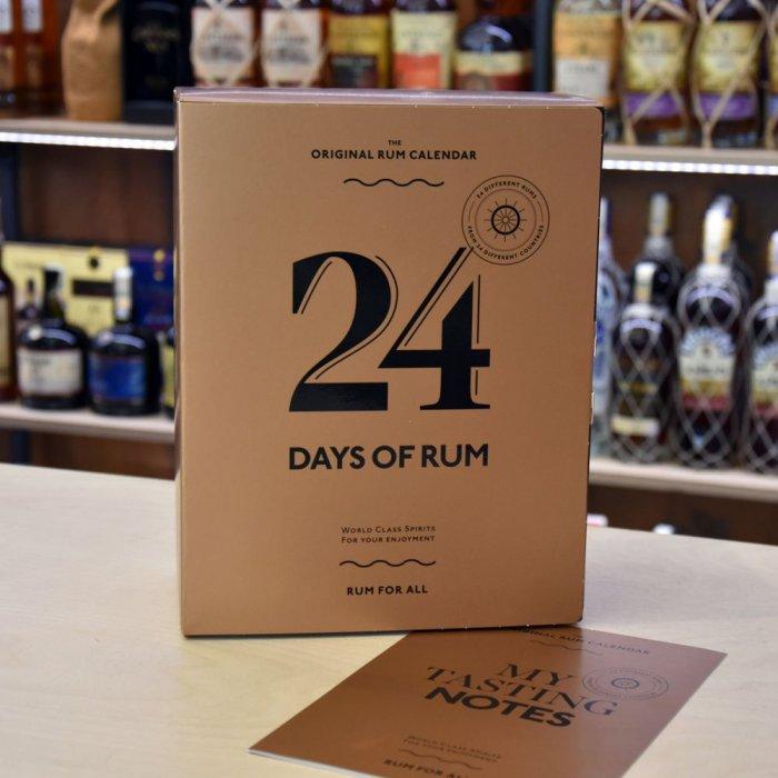 Adventní rumový kalendář