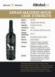 Arran Machrie Moor Cask Strength 0,04l 56,2%
