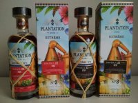 Aukce Plantation Extreme No. 3 HJC Jamaica 22y 56,2% & ITP Jamaica 22y 54,8% Plantation Extreme 1996 2×0,7l L.E.