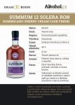 Summum Sherry Cream Cask Finish 12y 0,04l 40%