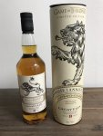 Aukce Game of Thrones House Lannister – Lagavulin 9y 0,7l 46%