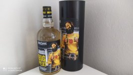 Aukce Big Peat The Robbie's Drams Edition 0,7l 48% L.E.