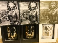 Aukce Bugsy's DNA Gin Vol.3 & Vol.4 & 25 Anniversary 3×0,5l 45%