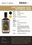 Five Hundred Cuts Rum 0,04l 40%