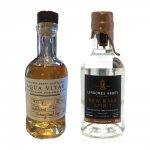 Aukce Lindores Abbey New Make Spirit 63,5% & Aqua Vitae 40% 2×0,2l L.E.