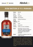Rum Nation Panama 10y 0,04l 40%