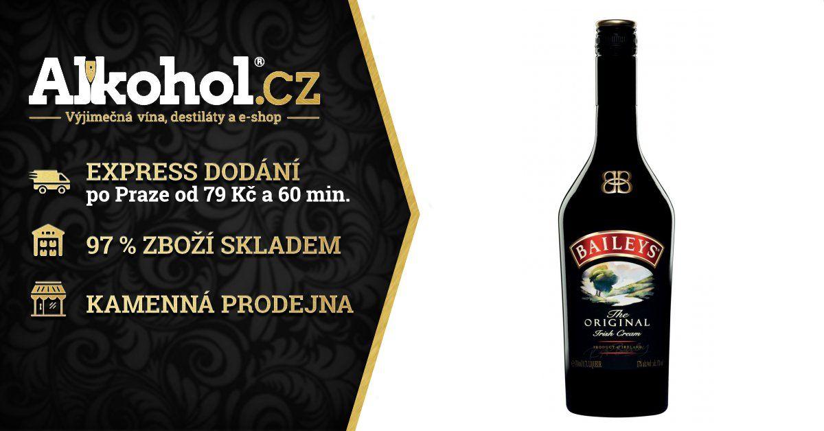 Dejlig Baileys Irish Cream 0,7l 17% | ALKOHOL.cz ZX-77