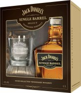 Jack Daniel's Single Barrel 0,7l 45% + 1x sklo GB