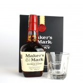 Maker´s Mark 0,7l 45% + 2x sklo GB
