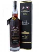 A.H.Riise Royal Danish Navy Strength Rum 0,7l 40%