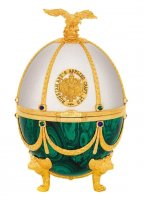 Vodka Imperial Collection Faberge Ei Pearl and Emerald 0,7l 40% GB